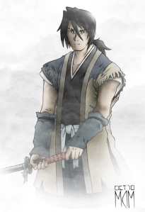 An image of what Jeru might look like--taken from anime Sword of the Stranger