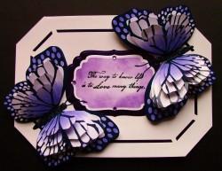 A gorgeous card by Jennifer Kirk