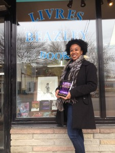 Ignore the pigmy and check out my book IN THE FRONT WINDOW. Oh yeah, and my smile isn't bad, either. :D